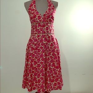 Lilly Pulitzer size 6 pink floral dress
